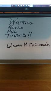 Writing Advice and Tidbits