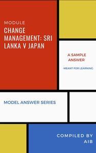 Change Management: Sri Lanka v Japan