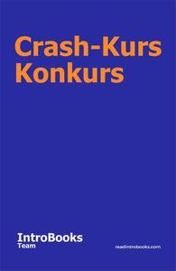 Crash-Kurs Konkurs
