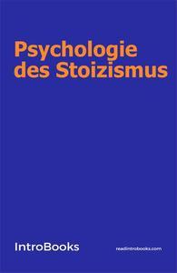 Psychologie des Stoizismus