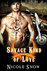Savage Kind of Love: Prairie Devils MC Romance