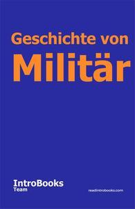 Geschichte von Militär