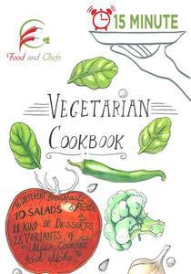 15 minute Vegetarian Cookbook