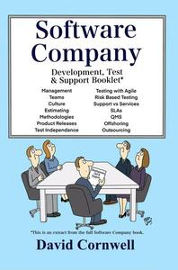 Software Company:  Development, Test & Support Booklet