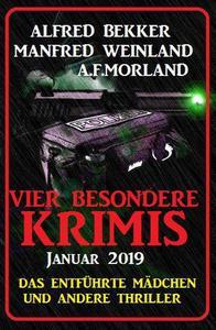 Vier besondere Krimis Januar 2019