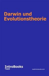 Darwin und Evolutionstheorie