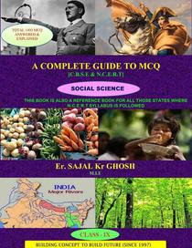 A COMPLETE GUIDE TO M.C.Q (CLASS-9,SOCIAL SCIENCE)