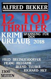 12 Top Thriller: Krimi Spannung für den Urlaub 2018