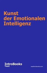 Kunst der Emotionalen Intelligenz