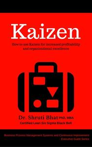 Kaizen: How to use Kaizen for Increased Profitability and Organizational Excellence.