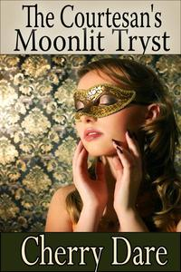 The Courtesan's Moonlit Tryst
