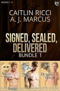 Signed, Sealed, Delivered Bundle 1