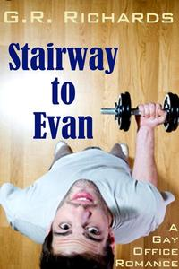 Stairway to Evan: A Gay Office Romance Short