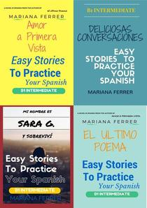 Books In Spanish: Easy Stories to Practice Your Spanish 4 Books Bundle