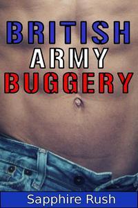 British Army Buggery (gay soldier humiliation)