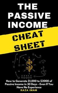 The Passive Income Cheat Sheet