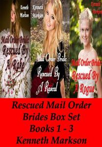 Mail Order Bride: Rescued Mail Order Brides Box Set - Books 1-3