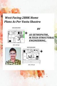 West Facing 2BHK Home Plans As Per Vastu Shastra