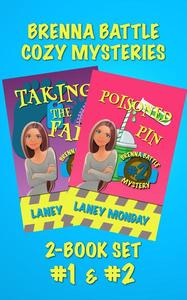 Brenna Battle Cozy Mystery Set, Books 1 and 2: Taking the Fall and Poisoned Pin