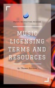 Music Licensing Terms and Resources