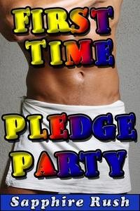 First Time Pledge Party (gay BDSM spanking anal)