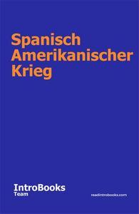 Spanisch Amerikanischer Krieg