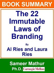 Book Summary - The 22 Immutable Laws of Branding