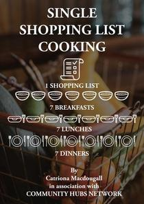 Single Shopping List Cooking