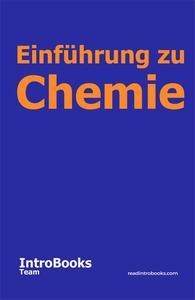 Einführung zu Chemie
