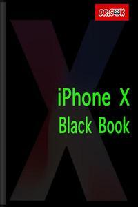 iPhone X Black Book