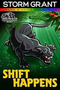 Shift Happens: a gay paranormal action adventure (Borderless Observers Org.