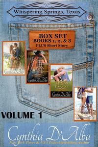 Whispering Springs, Texas Volume One: Books 1-3 + Short Story