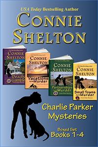 Charlie Parker Mysteries Boxed Set (Books 1-4): The Girl and Her Dog Cozy Mysteries