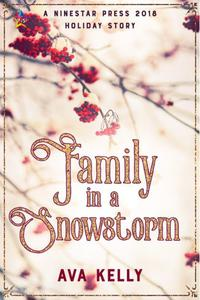 Family in a Snowstorm