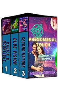 Phenomenal Touch: A Supernatural Romance Series Starter Collection and Boxed Set