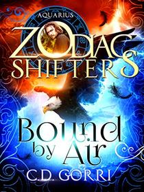 Bound By Air: A Zodiac Shifters Paranormal Romance: Aquarius (Wardens of Terra 1)
