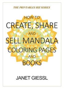 How to Create, Share and Sell Mandala Coloring Pages and Books