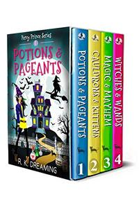 Percy Prince Witching Cozy Mystery Series Boxset: Books 1-4