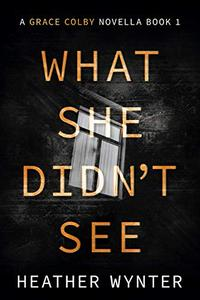 What She Didn't See: A Grace Colby Novella Book One