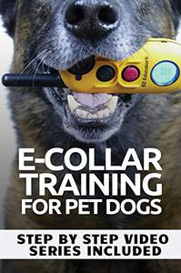 E-COLLAR TRAINING for Pet Dogs: The only resource you'll need to train your dog with the aid of an electric training collar