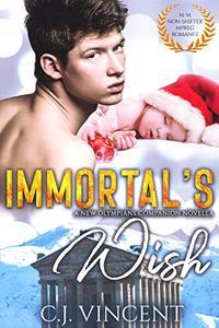 Immortal's Wish: A M/M Non-Shifter Mpreg Romance