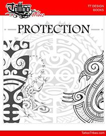 PROTECTION - Design Book: 28 Polynesias tattoo designs to give protection