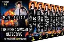 The Night Sword Detective Complete First Season Box Set (Books 1-6): A Supernatural Mystery Collection