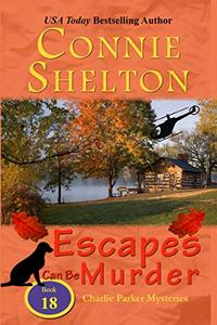 Escapes Can Be Murder: A Girl and Her Dog Cozy Mystery