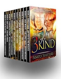 Three Of A Kind: An Incredible 10 Book Paranormal Menage Romance Box Set