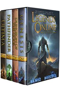 Legends Online Universe: The Complete First Arc of the LitRPG Series: Books 1-4