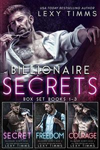 Billionaire Secrets Box Set Books #1-3: Billionaire Contemporary Romance Anthology