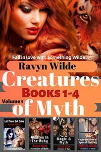 Creatures of Myth Series, Volume 1 (Books 1 - 4): Dark Paranormal Romance