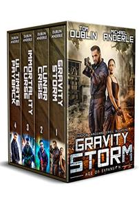 Shadow Vanguard Boxed Set (Books 1-4): Gravity Storm, Lunar Crisis, Immortality Curse, and Ultimate Payback